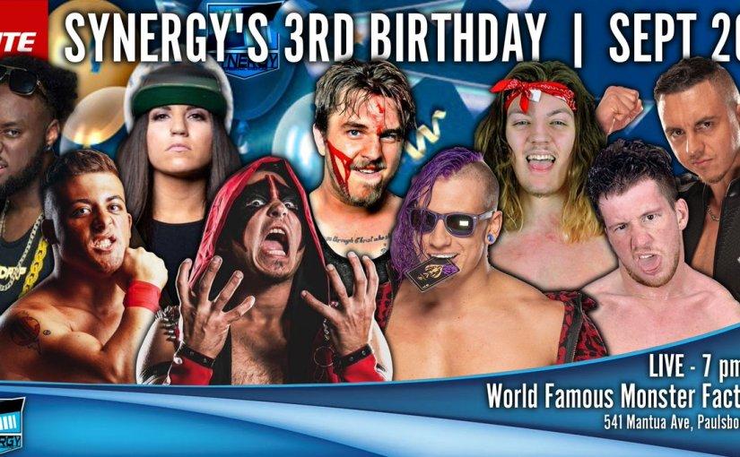 Synergy 3rd Birthday ShowRecap